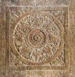 Chakra de piedra imagen de archivo