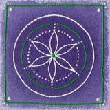 Chakra del tercero-ojo de Ajna Imágenes de archivo libres de regalías