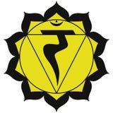 Chakra di Manipura Fotografia Stock Libera da Diritti