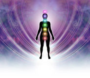 Chakra Energy Field royalty free illustration