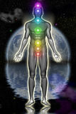 Chakra Figure Stock Photography