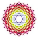 Chakra Lotus illustration stock