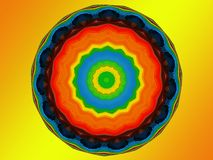 Chakra Mandala Stock Photo