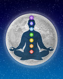 Chakra Meditation Stock Photography