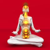 Chakra Meditation Royalty Free Stock Images