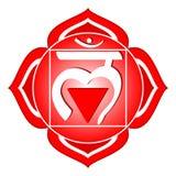 chakra muladhara系列 免版税库存照片