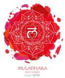 Chakra Muladhara иллюстрация штока