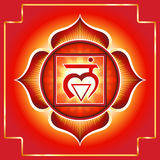 Chakra Muladhara Fotografia Royalty Free