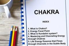 Chakra ou centre d'énergie sept Images stock