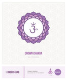 Chakra Sahasrara de la corona stock de ilustración