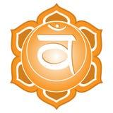Chakra Serie: Swadhisthana Lizenzfreies Stockfoto