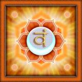 Chakra Swadhisthana Royalty Free Stock Image