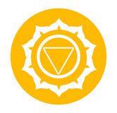 Chakra symbol Royalty Free Stock Photos