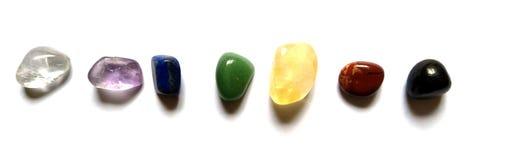 Chakra System Crystals 7 Healing Points  Sunghite, Carnelian, Citrine, Green Aventurine, Lapis Lazuli, Amethyst,  Angel Aura QUart