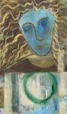 chakrahjärta royaltyfri illustrationer
