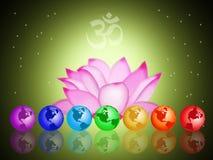Chakras Imagens de Stock
