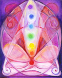 Chakras Fine Art Royalty Free Stock Image
