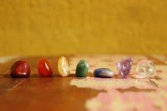 Chakras-Steine zu heilen Lizenzfreie Stockfotos