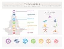 Chakras y cura de la energía libre illustration