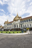 Chakri Maha Prasat, μεγάλο παλάτι, Μπανγκόκ, Ταϊλάνδη Στοκ Εικόνα