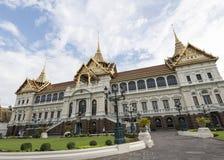 Chakri Maha Prasat, μεγάλο παλάτι, Μπανγκόκ, Ταϊλάνδη Στοκ εικόνα με δικαίωμα ελεύθερης χρήσης
