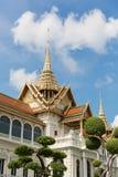 Chakri Maha Prasat σε Wat Phra Kaew, Μπανγκόκ, Ταϊλάνδη Στοκ Φωτογραφία