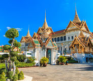 Chakri Maha Prasat or Grand palace Royalty Free Stock Photos