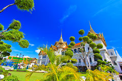 Chakri Maha Prasat or Grand palace Royalty Free Stock Image