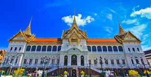 Chakri Maha Prasat or Grand palace Stock Image