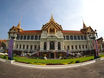 Chakri Maha Prasat Hall in Thailand. Stock Image