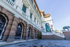 Chakri Maha Prasat Salão Imagem de Stock