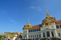 The Chakri Maha Prasat Throne Hall Stock Photos