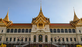 The chakri maha prasat throne hall  Stock Photo