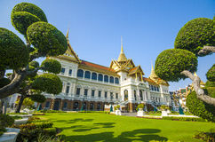 The chakri maha prasat throne hall, Bangkok, Thailand Royalty Free Stock Photo