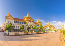 Chakri Maha Prasat Throne Hall at Grand palace, Wat pra kaew wit Royalty Free Stock Photos