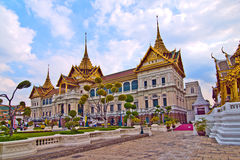 Chakri Mahaprasad Hall of Grand Palace in Bangkok Stock Images