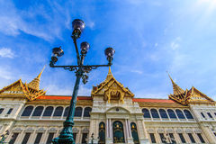 Chakri Throne Hall. In the Grand Palace, Wat Phra Kaew in Bangkok, Thailand . Thailand or destinations . Many travelers From all over the world come to visit royalty free stock images