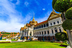 Chakri Throne Hall in the new view . Chakri Throne Hall in the Grand Palace, Wat Phra Kaew in Bangkok, Thailand . Thailand or destinations . Many travelers From stock photo