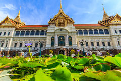 Chakri Throne Hall in the perspective of an ant . Chakri Throne Hall in the Grand Palace, Wat Phra Kaew in Bangkok, Thailand . Thailand or destinations . Many stock photos