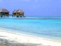 Chalés tropicais fotografia de stock royalty free