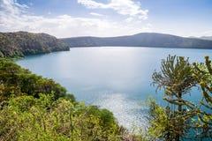 Chala jezioro na granicie Kenja i Tanzania, Afryka Obrazy Royalty Free