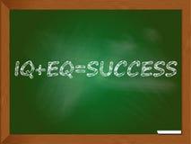 Chalboard que descreve a solução do sucesso Imagens de Stock Royalty Free