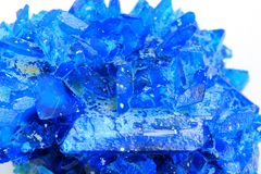 Chalcanthite mineral Royalty Free Stock Photo