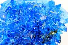 Chalcanthite mineral Stock Photo