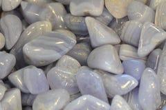 Chalcedony gems background royalty free stock image