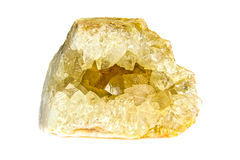 Chalcedony silica crystal Stock Images