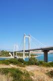 Chalcis' Bridge in Evia, Greece Royalty Free Stock Photography