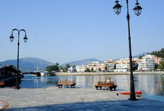 Chalcis in Greece Stock Photography