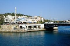 Chalcis in Griechenland Stockfotografie