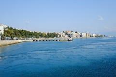 Chalcis i Grekland Arkivfoton